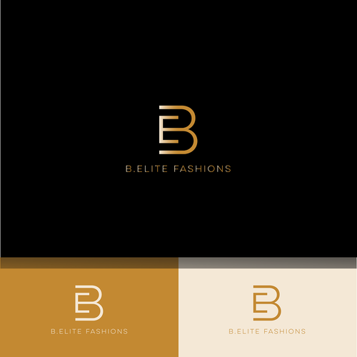 B. Elite Fashions - Design a luxurious logo for an upscale women\'s ...
