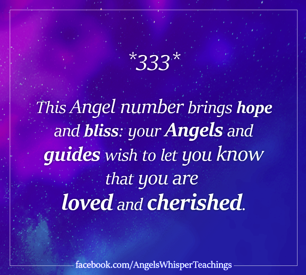 Angel Numbers | Angel Number 333 | 333 Meaning | Numerology