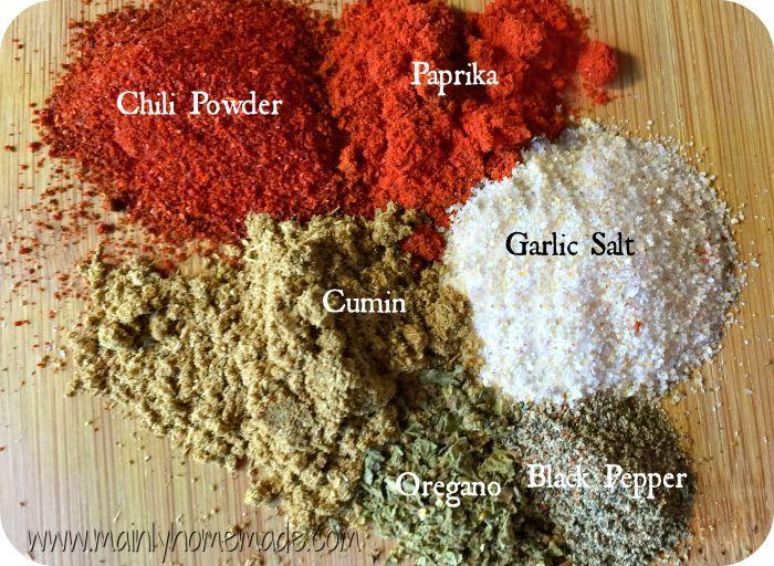 The Best Homemade Fajita Seasoning Rub #homemadefajitaseasoning Homemade Fajita Seasoning spices #homemadefajitaseasoning