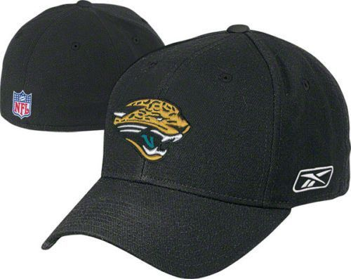 280d6c63e6e2b8 Jacksonville Jaguars fitted hat Reebok new with stickers NFL Jags Football
