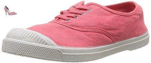 Tennis Bensimon Lacet Femme 208 Corail - Chaussures bensimon (*Partner-Link)