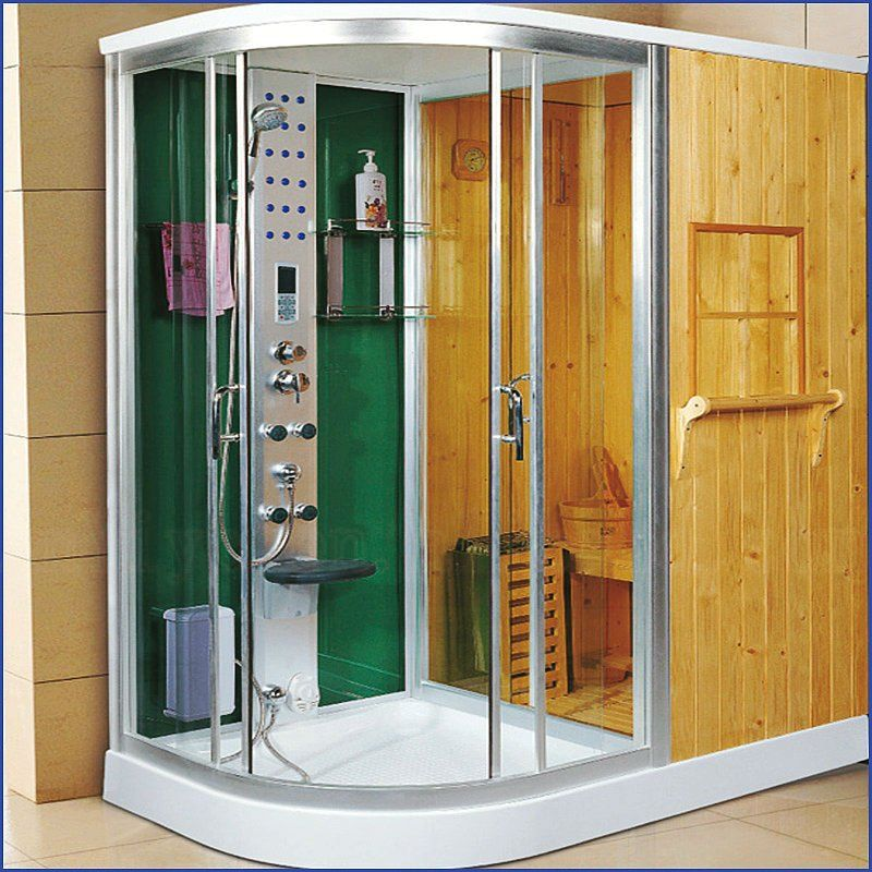 Indoor Sauna And Shower Bathroom Toilet Designs