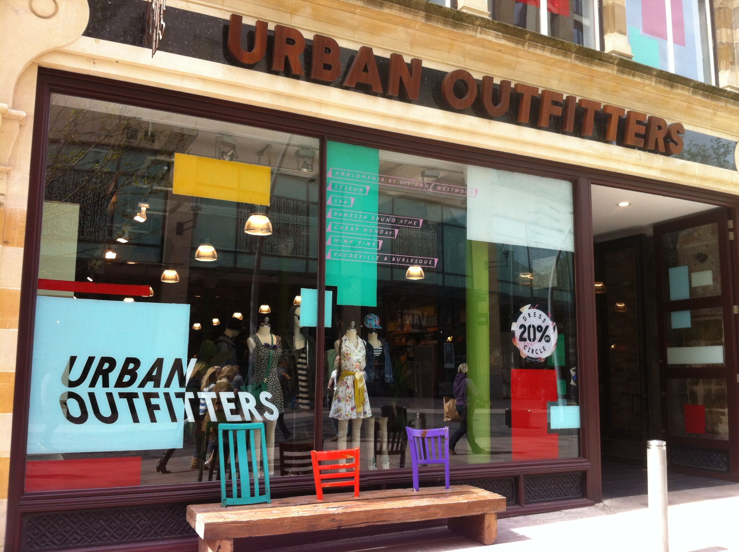 Urban Outfitters is a lifestyle retailer offering a mix of trendy women's and men's clothing, backpacks, beauty products, intimates, shoes, and hand-picked vintage clothing. They also provide everything you'll need to decorate your small space.