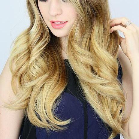 【ロングへア女子必見】コテもカーラーも使わないからダメージレスでこの写真の巻き髪が作れる♡貧乏パーマはもう古い!