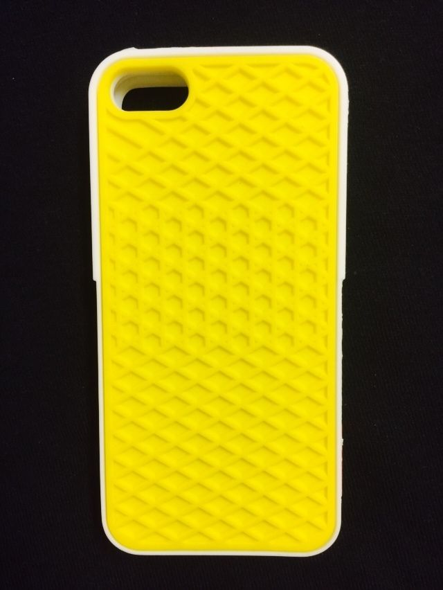 aed01a669df6e5 VANS Waffle Sole Case Bumper Yellow and White for Apple iPhone 5 5S   UnbrandedGeneric