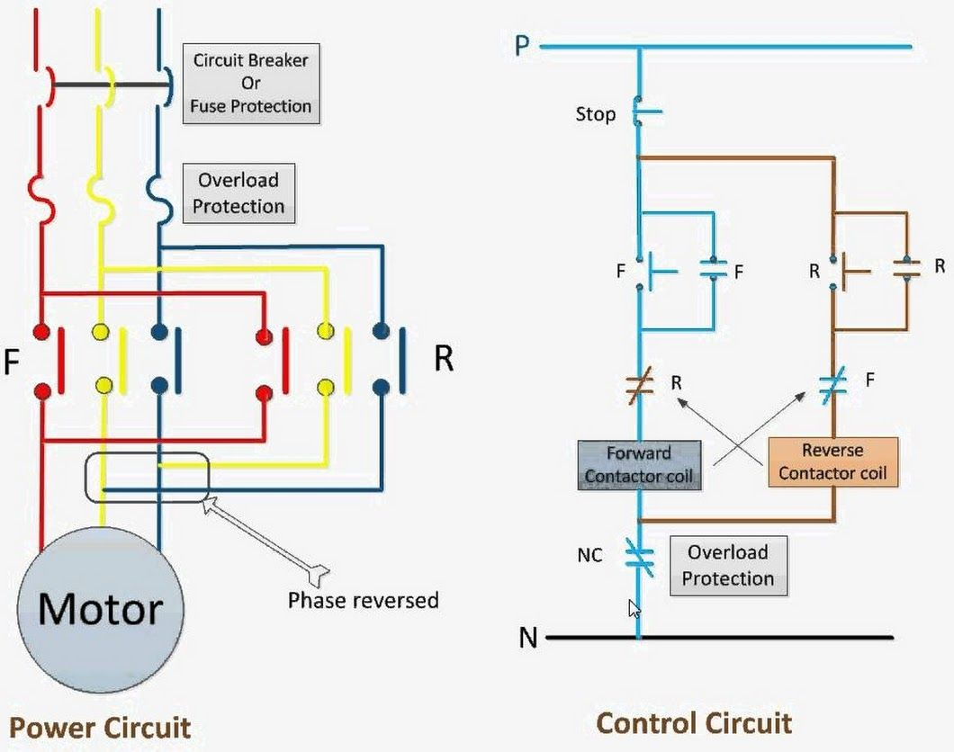 Forward Reverse Switch Wiring Diagram