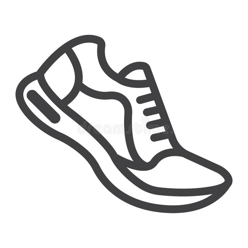 Running Shoes Line Icon Fitness And Sport Gym Sign Vector Graphics A Linear P Sponsored Affiliate Affiliat Shoe Tattoos Running Shoes Tattoo Line Icon