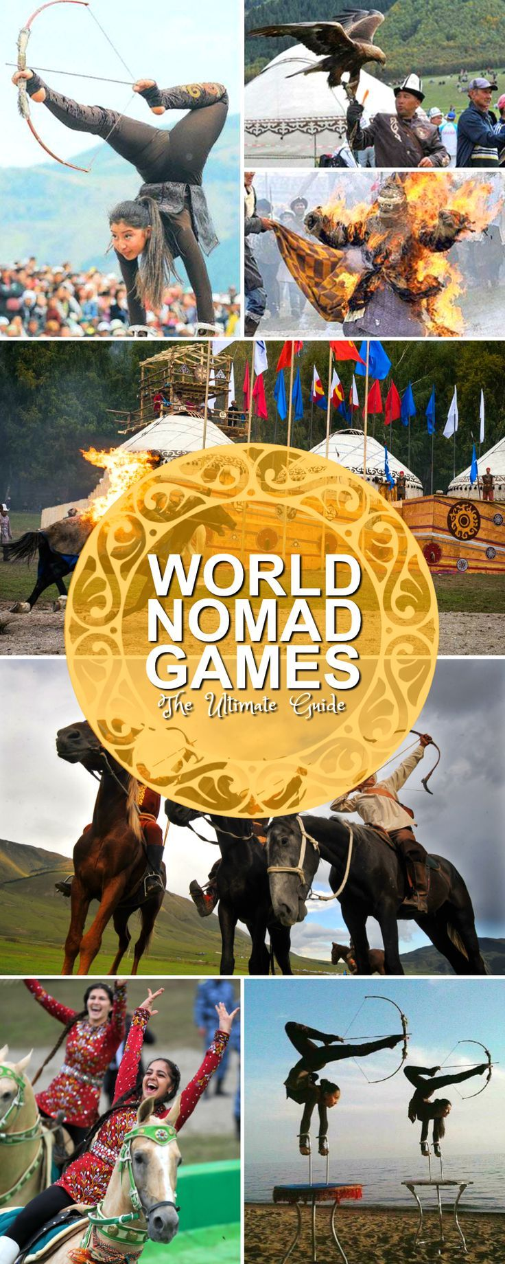 The World Nomad Games will be arriving back in Kyrgyzstan very soon ...