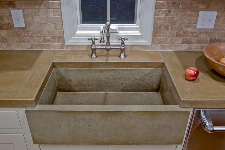 Attractive How To Make A Concrete Kitchen Sink #3: Pinterest