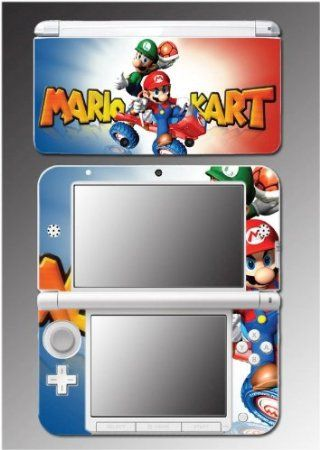 Mariokart 7 3D Super Mario Luigi Kart DS Video Game Vinyl