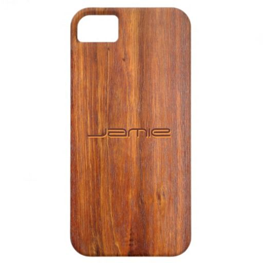 Wood Customized iPhone5 covers iPhone 5 Covers