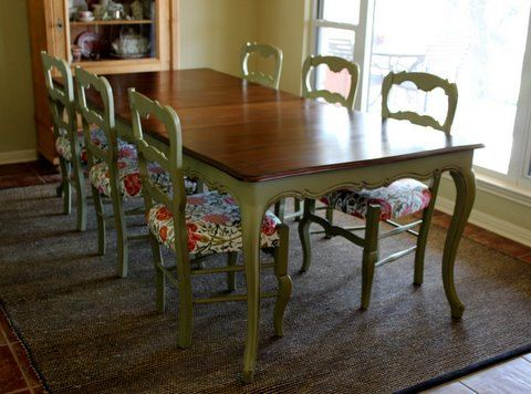 Vintage French Country Dining Set By Nodtothepast On Etsy, $1550.00