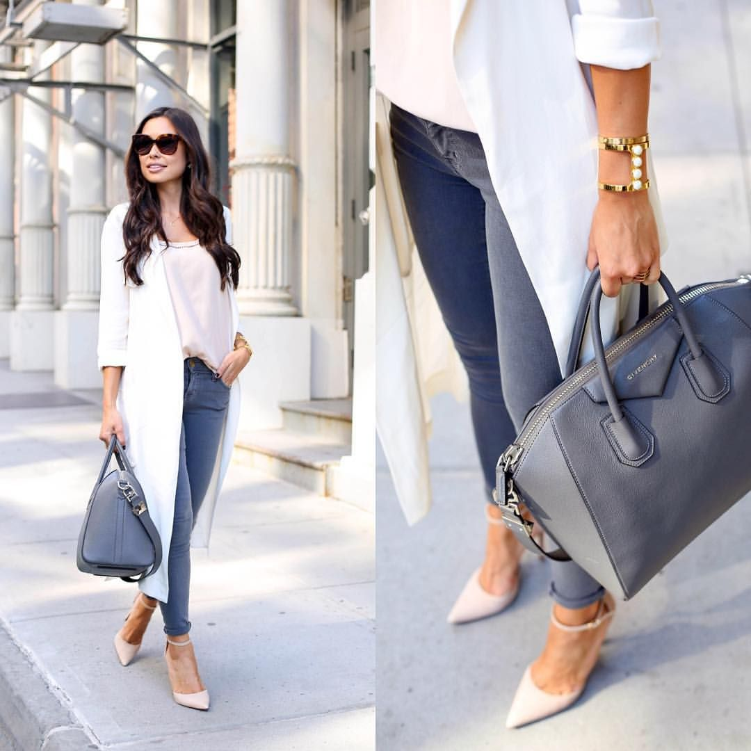 """cfef99d36e Kat Tanita on Instagram  """"Today on withlovefromkat.com.  liketoknow.it  www.liketk.it 1MaiQ  liketkit  ootd  neutrals  silktrench  givenchy"""""""