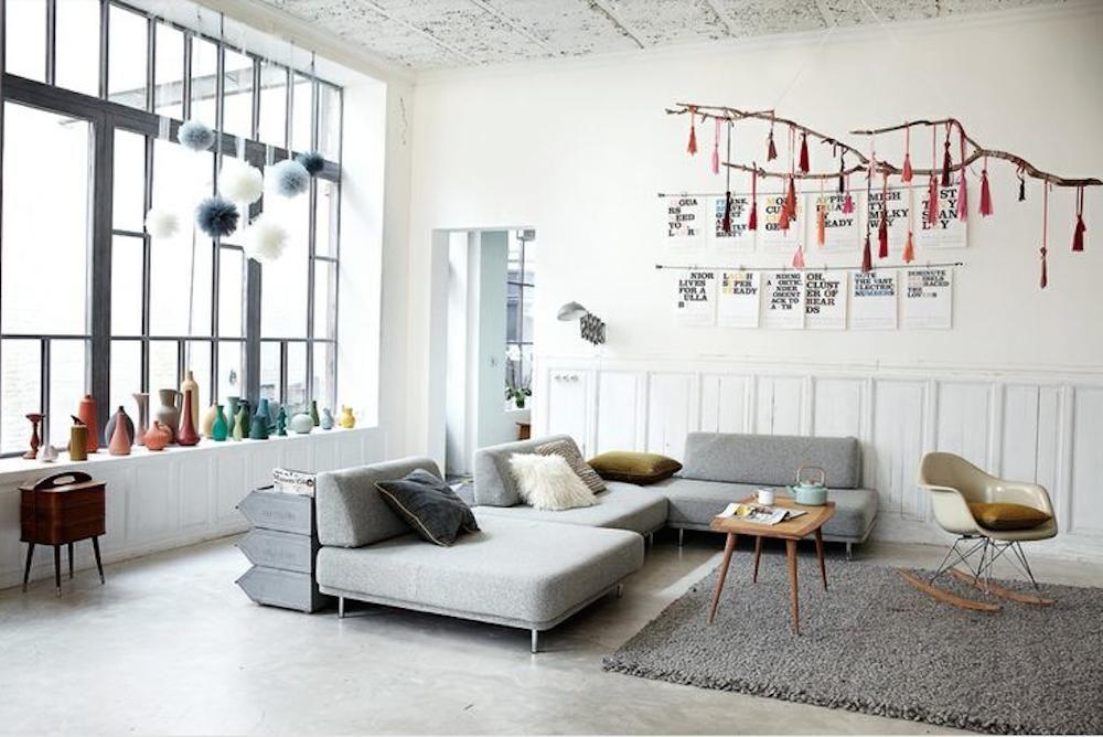 wohnzimmer loft style - google-suche   häuser   pinterest   searching - Wohnzimmer Industrial Style