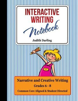 interactive writing notebook grades cc aligned interactive this interactive writing notebook grades 6 8 covers narrative essay writing compare