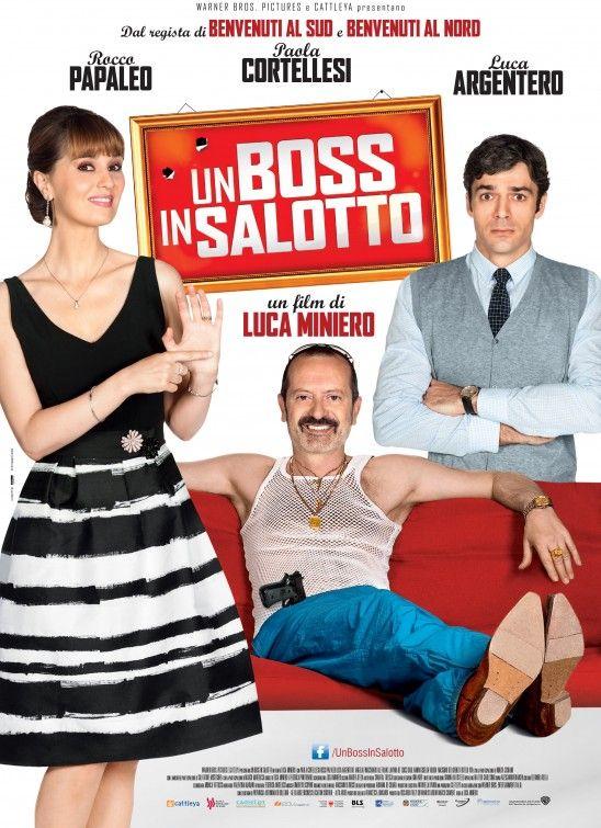 Un Boss In Salotto Movie Poster Italian Film Festival Movie Directors Italian Movie Posters