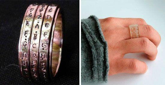 Rotating rings crypto wedding ring wedding rings Pinterest
