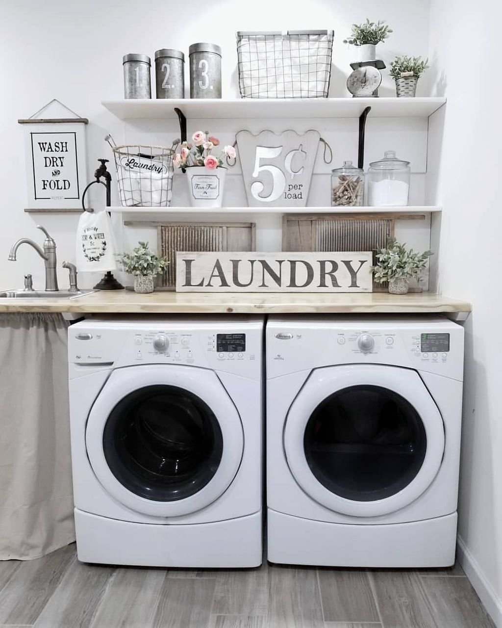 20 Amazing Laundry Room Decoration Ideas For Low Budget In 2020