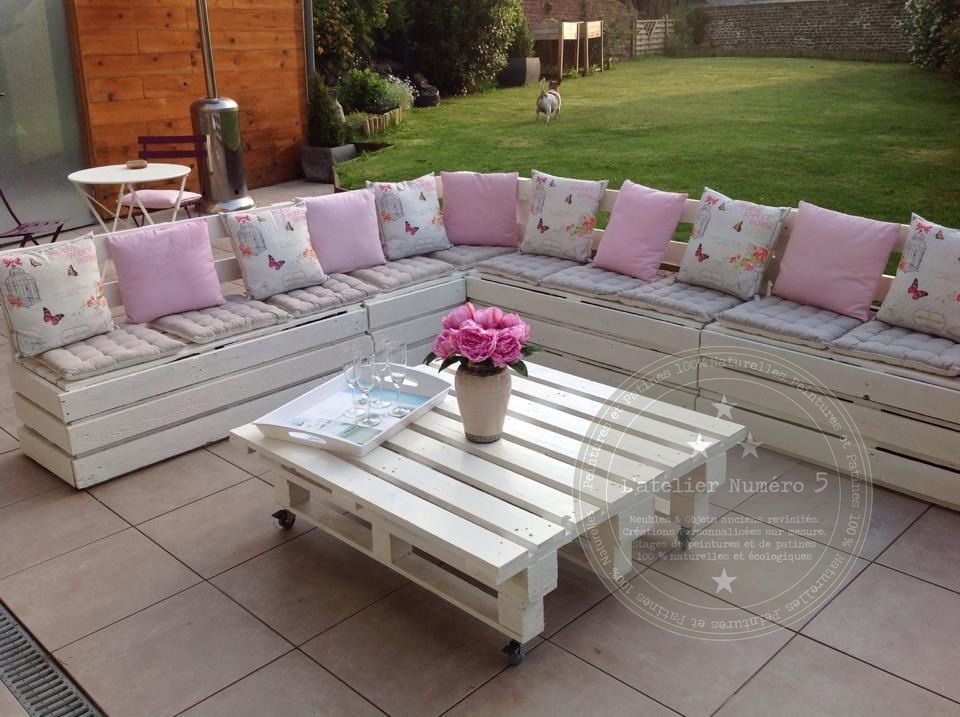 Beautiful Creer Un Salon De Jardin En Palette Contemporary