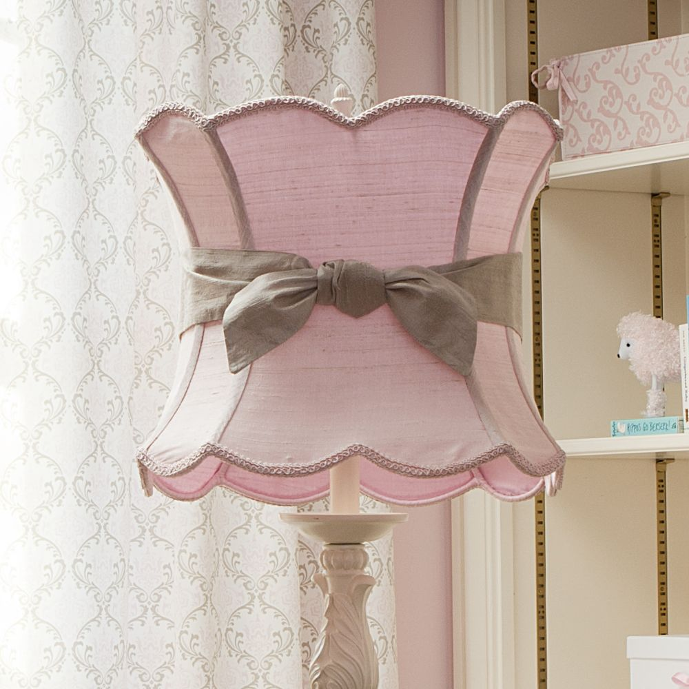 Fountain Winning Pink Lamp Shade With Sash Carousel Designs Ikea For Nursery