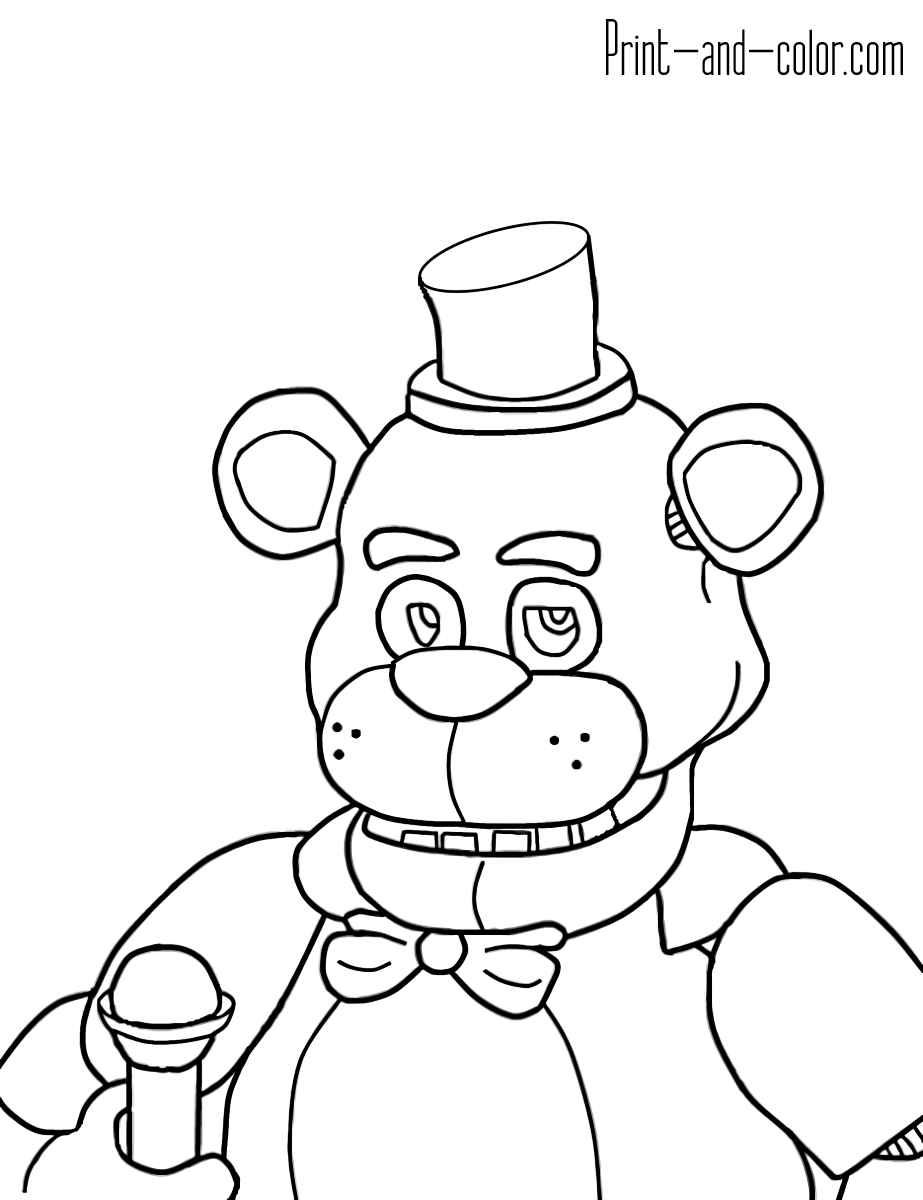 Five Nights At Freddy S Colors 11 Fnaf Coloring Pages Monster Coloring Pages Coloring Pages
