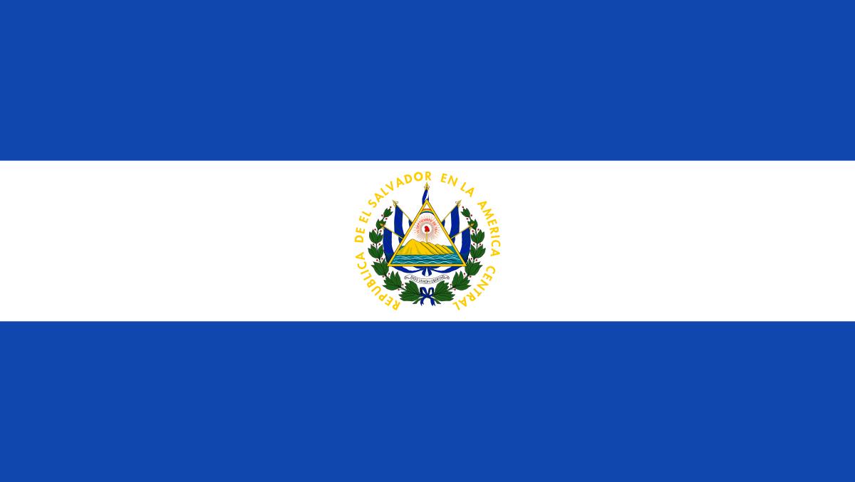 Flag Of El Salvador El Salvador Wikipedia Con Imagenes