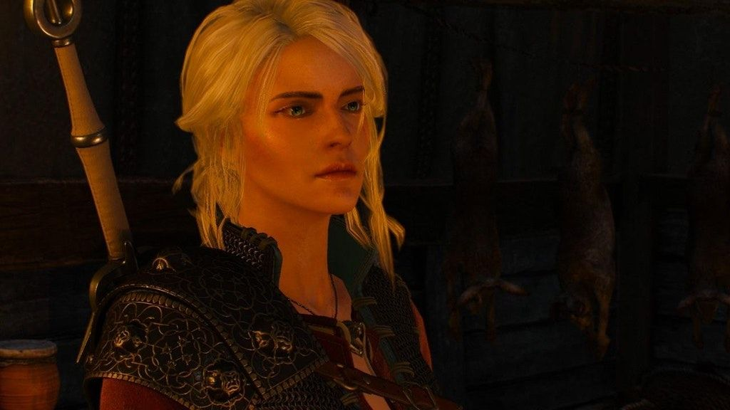 Ciri No Make Up Mod 3 Witcher Ciri The Witcher The Witcher 3