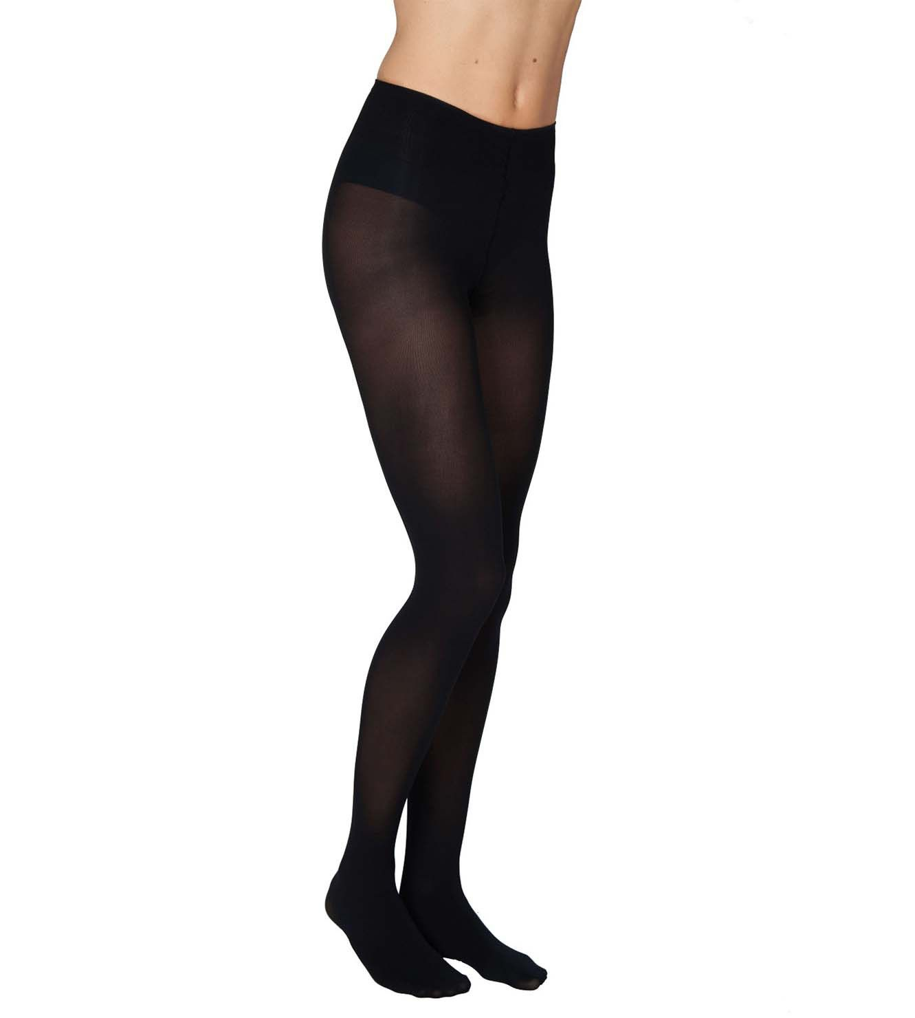 Swedishstockings  Olivia Black 60 Denier - Premium Stockings  Affordable, made from recycled yarn!