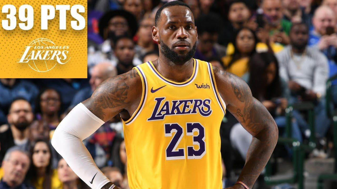 Lebron James Goes Off For 39 Point Triple Double Vs The