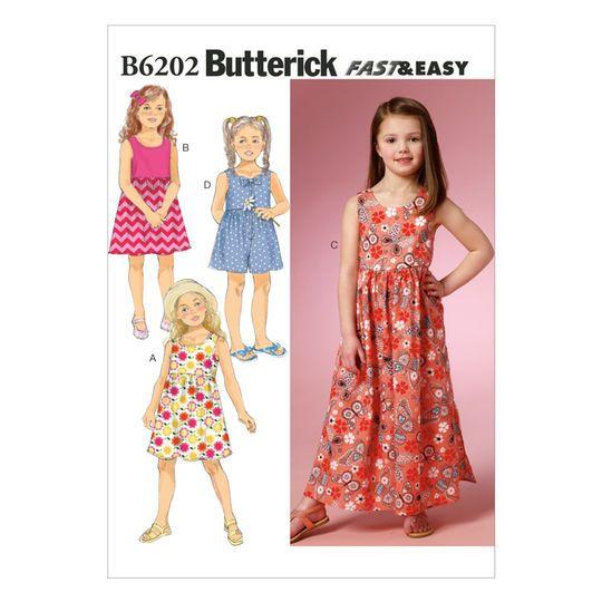 Butterick Pattern B6202 (2-3-4-5)