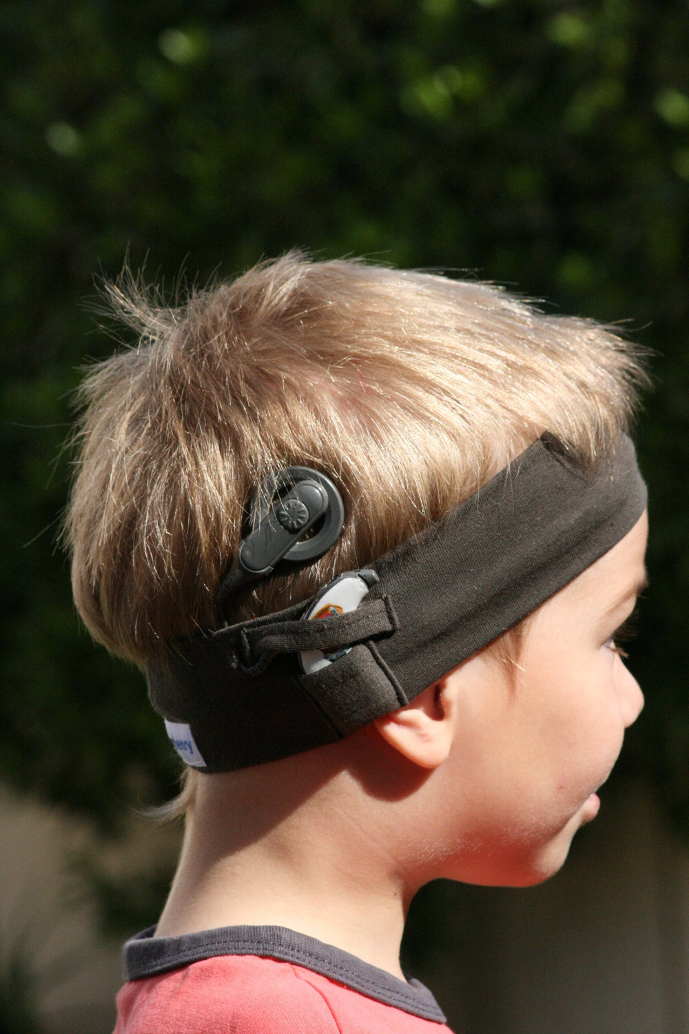 STANDARD hearinghenry Cochlear Implant Headband (Age 6 mon- 6 yrs)