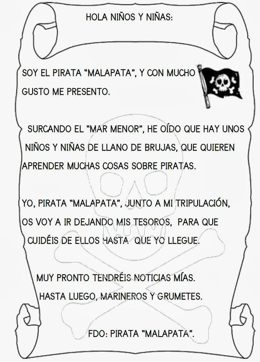El Rincón De Infantil Febrero 2014 Piratas Infantiles Juegos De Piratas Piratas