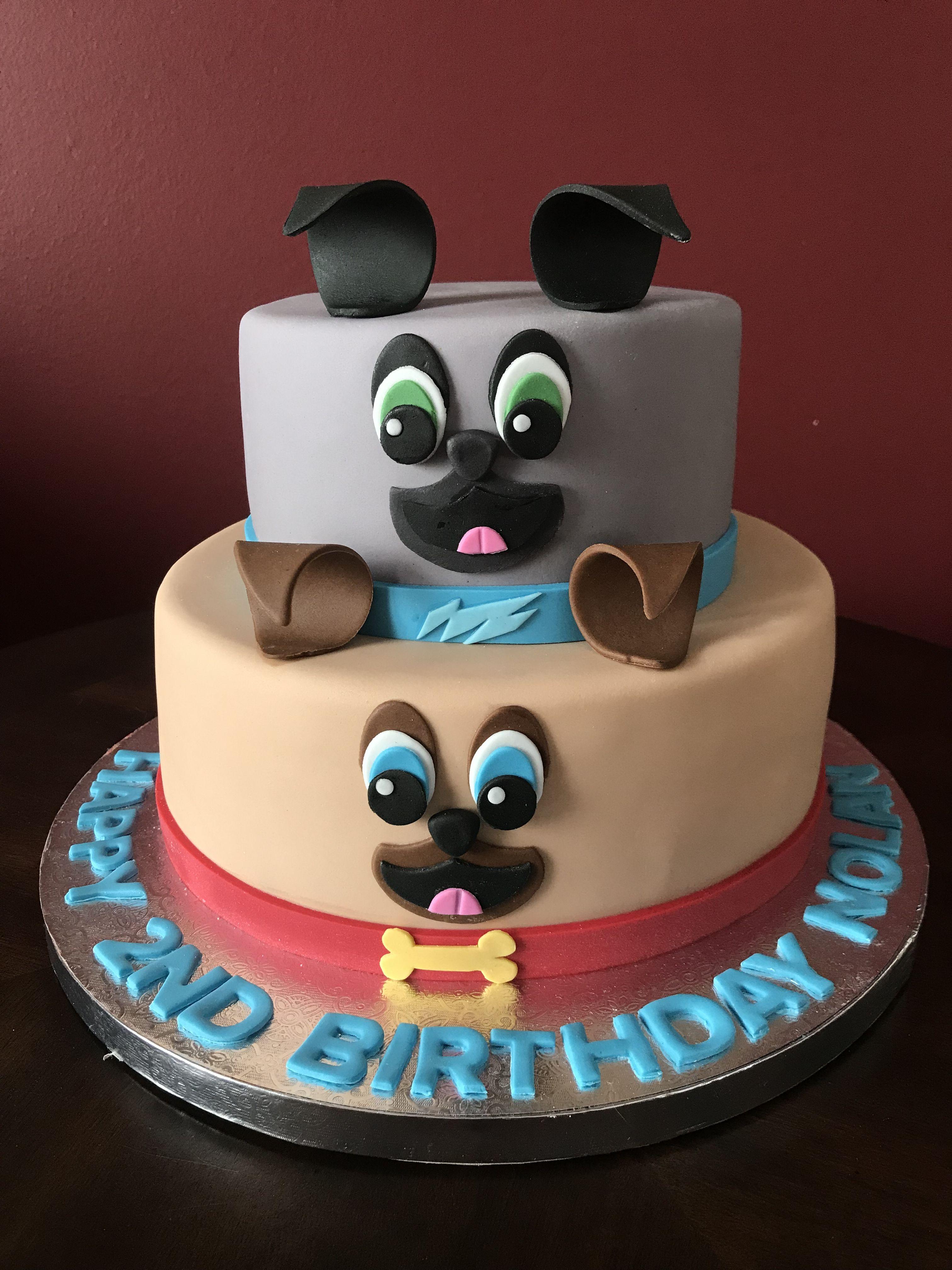 Puppy dog pals birthday cake puppy cake dog cakes cake