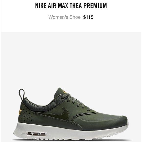 Olive Green Nike Air Max Thea Olive Green Nike Nike Air Max Thea Nike Shoes Women