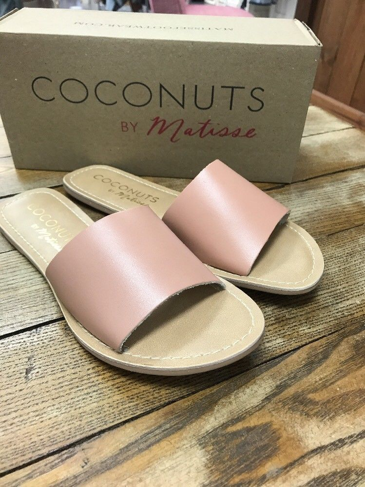 38a9174b05c0 Matisse - Cabana Slide - Nude Leather- Size 7 - NEW with Box  fashion   clothing  shoes  accessories  womensshoes  sandals (ebay link)
