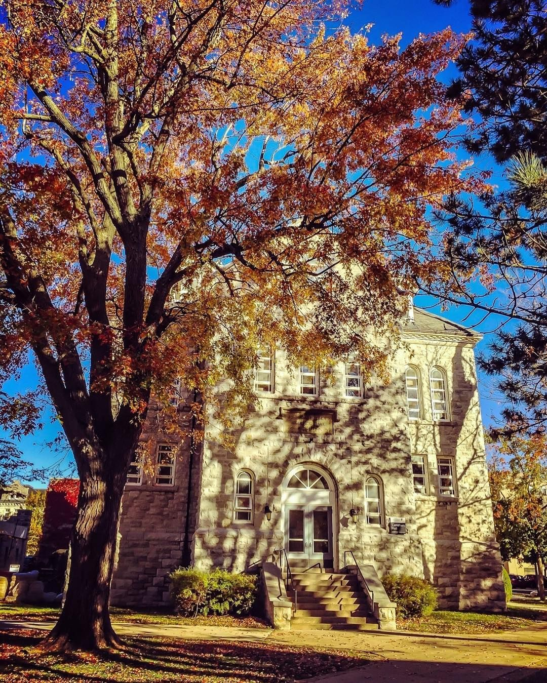 carruthers hall is one of the oldest buildings on campus and the