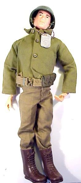 I used my Granny's GI Joe's from her doll collection  for Barbie's dates..Ken looked wimpy next to this tough guy!