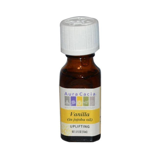 Aura Cacia Vanilla (in jojoba oil)   0.5 fl oz Liquid