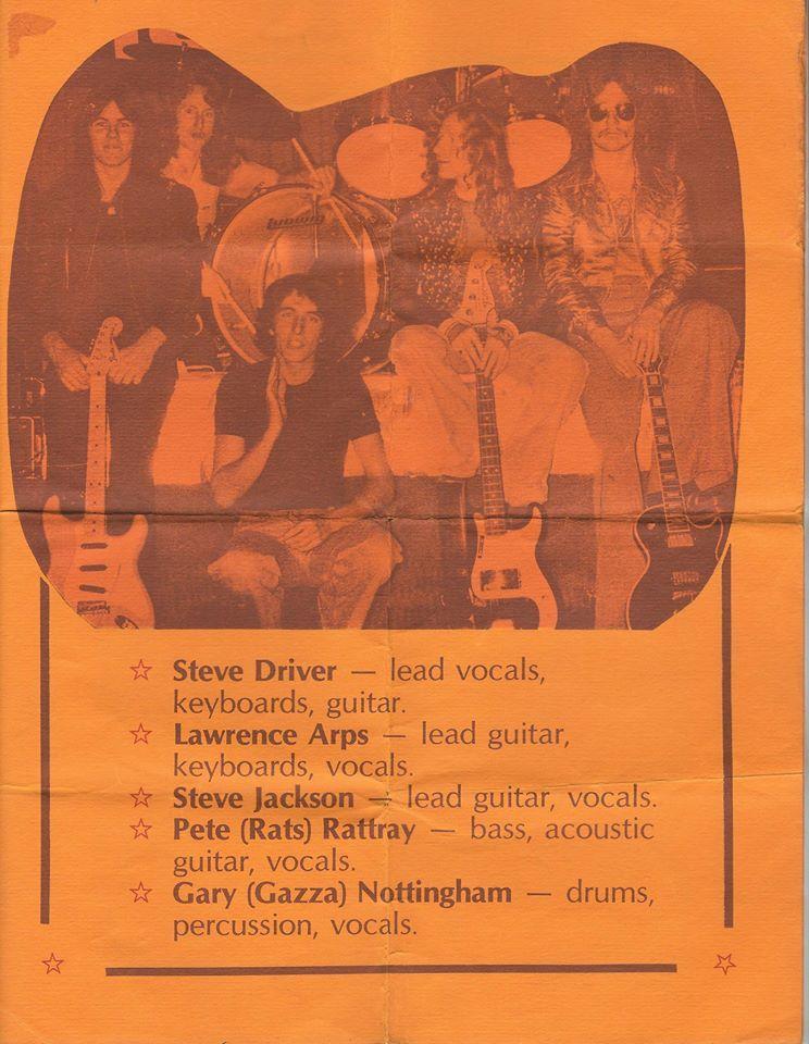 Shady Lady, Hillsbourough Tavern, Christchurch, New Zealand 1980