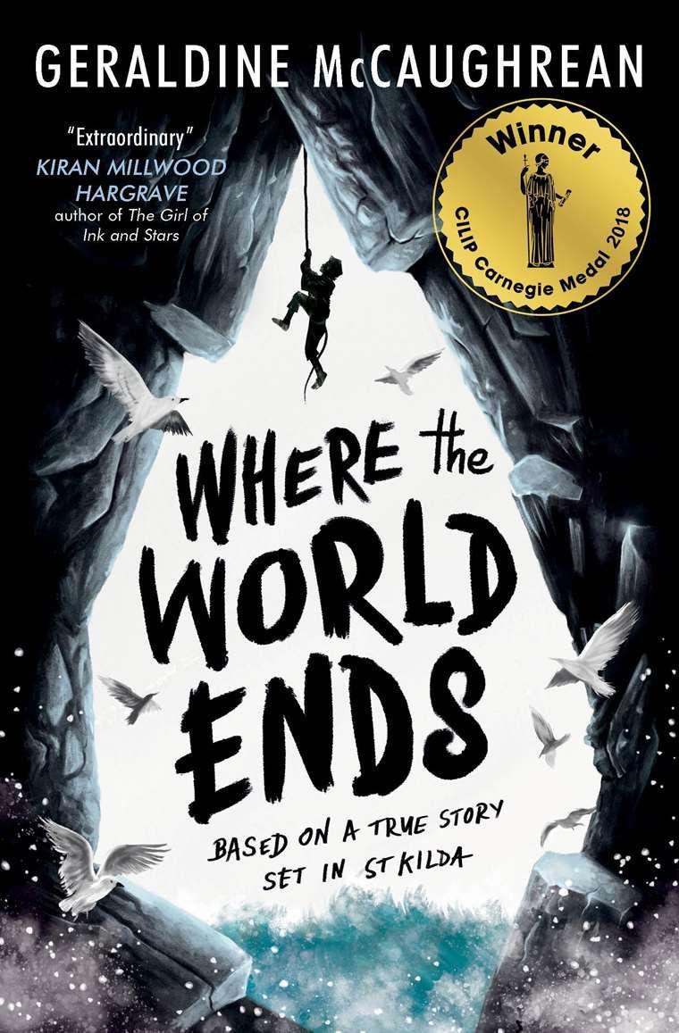 Pdf Download Where The World Ends By Geraldine Mccaughrean Book Cover Illustration Books Children Book Cover