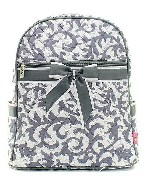 Moroccan /& Damask Kids Backpack Personalized