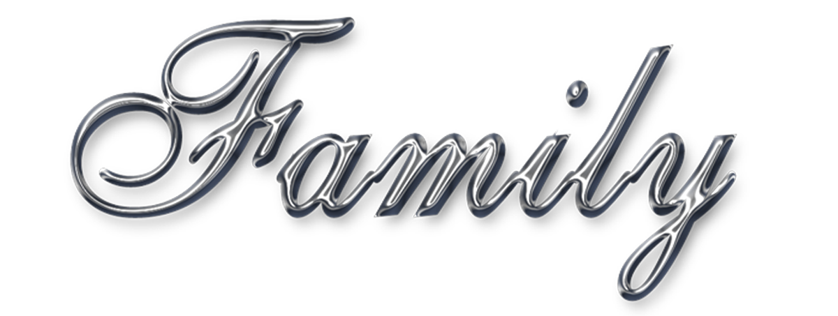 Free Word Art png | family-chrome-png.png | word art ...