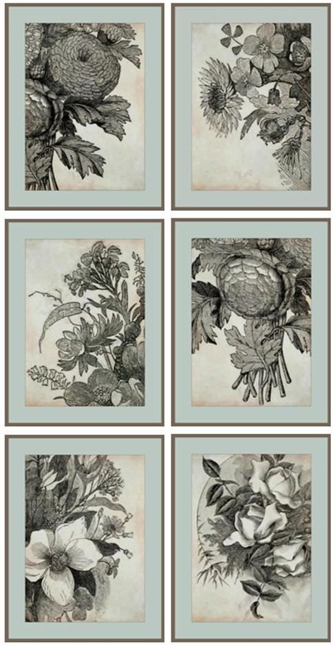 download a dozen different free 5x7 wall art prints from vintage ...