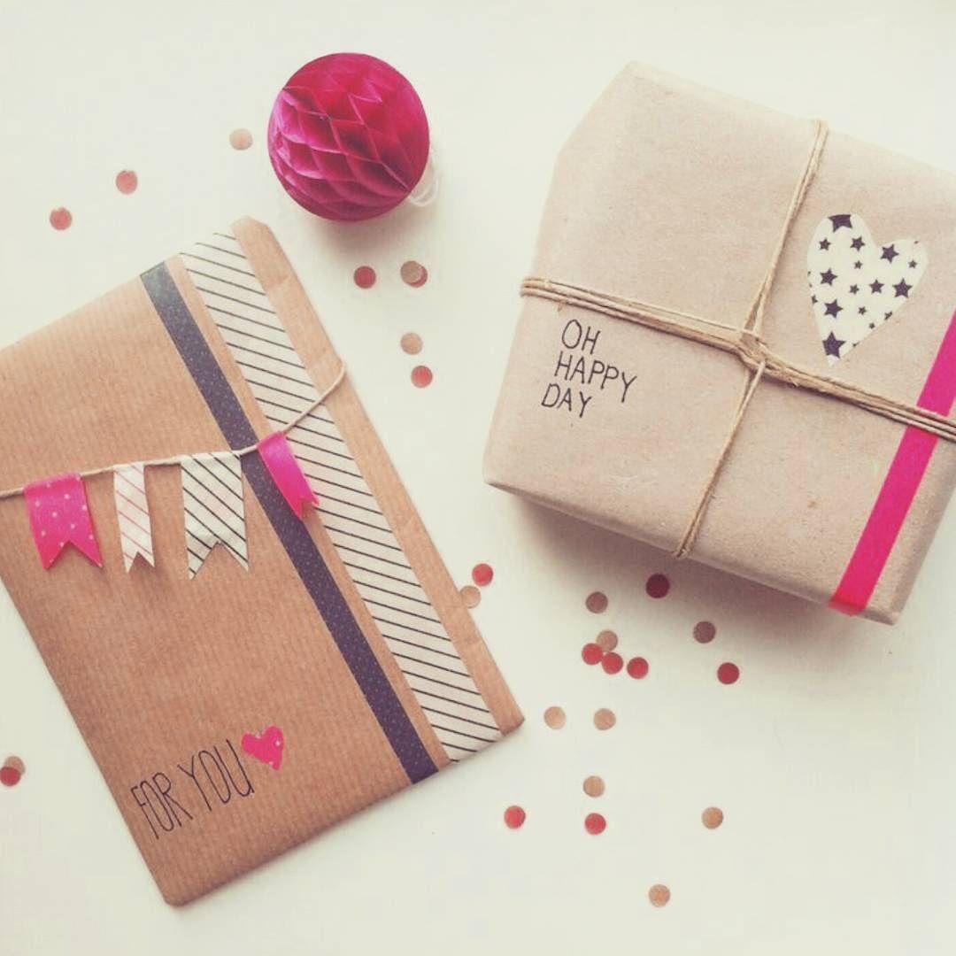 Morning  فكرة للتزيين الهدايا بالتيب الملون  لهدايا النجاح  وإجازة سعيدة للجميع  #DiY #art#gift #art#handcraft #HANDMADE #happiness #giftideas by ramooo_4