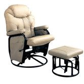 Found it at Wayfair - Gearhart Glider Rocker & Ottoman