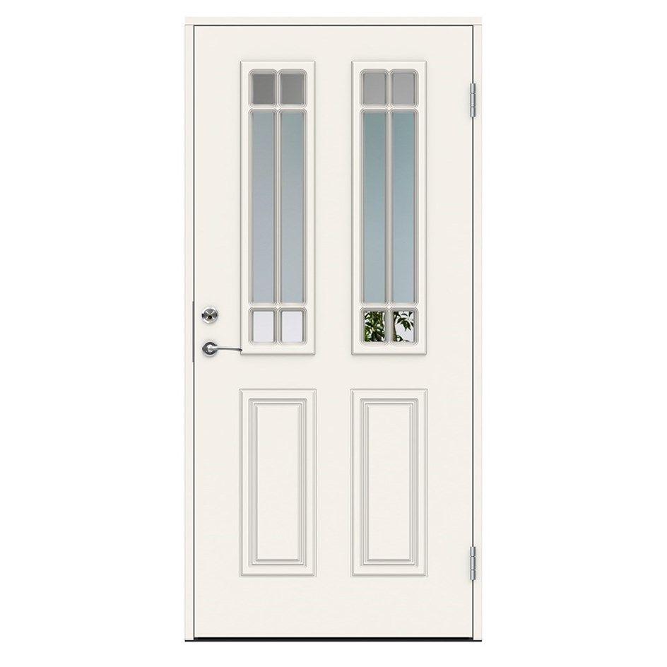 Inredning nordan dörr : Ytterdörr Swedoor Debussy Dekorglas | Verandas