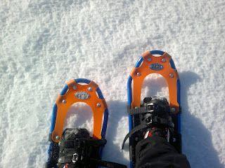 My snowshoes. Copyright PeeKoo. http://naistenpaivankunniaksi.blogspot.com