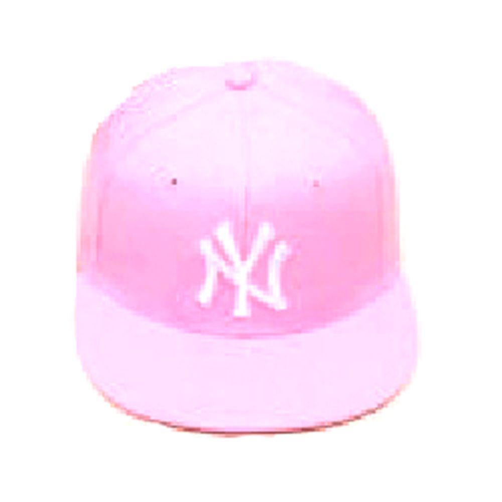 Gorra Plana rosa mujer - Snapback cap pink New York Yankees  9d756e4083f