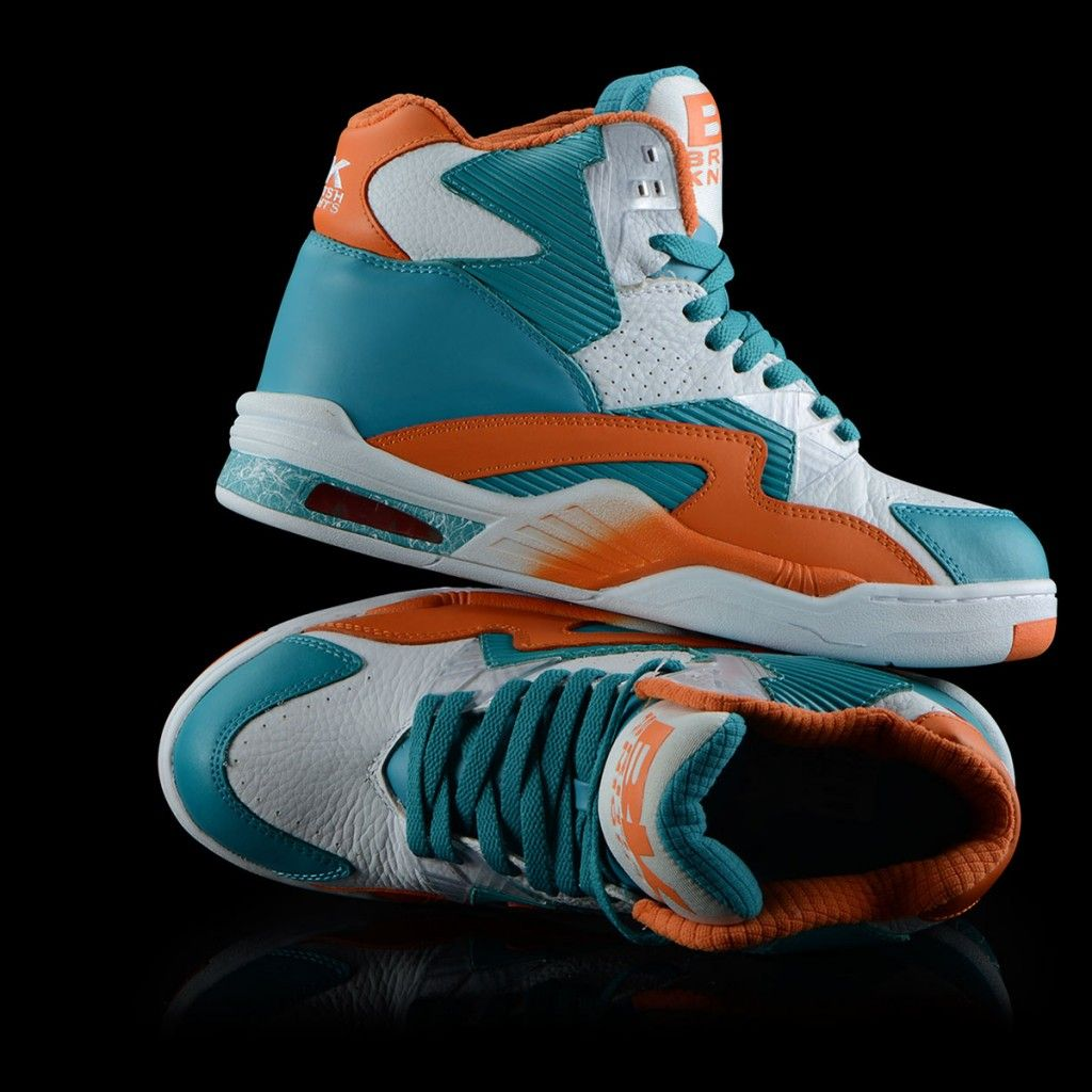 feadb0180df0 Here is a true retro for all the sneakerheads the British Knights - Control  Hi in that 90 s Miami colorway aka