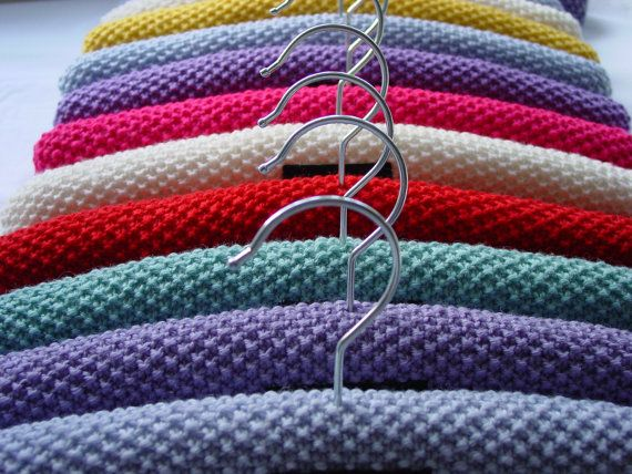 Knitted Coat Hanger Hangers Pinterest Knitting Hanger And Crochet